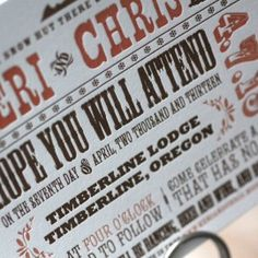 Lettra @Olmsted-Kirk | Fine Paper Promotional by  Workhorse Printmakers