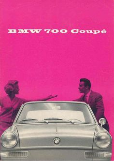1968 BMW 700 Coupe