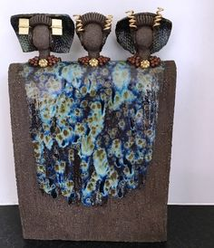 Keramiek - Figuren van Henny Sculpture Art, Sculptures, Cement Art, Modern Art, Contemporary, Travel Memories, Clay Art, Art Dolls, Diy Crafts