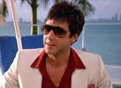 "Vintage Porsche Design by Carrera worn by Al Pacino in the movie ""SCARFACE"""