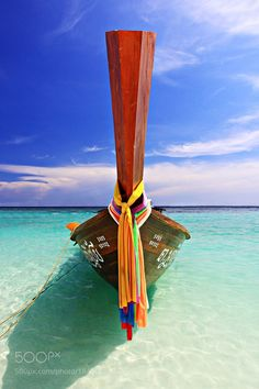 Andaman longtail boat Thailand. by Mercedess