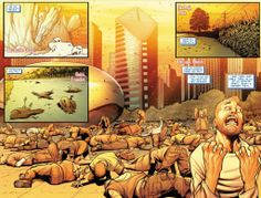 The Earth cooks, in Amazing Spider-Man #682