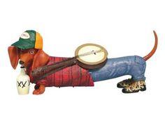 Hot Diggity Dog Banjo Doxie