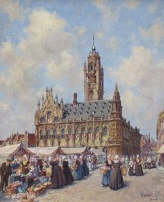 Hendrik Schaap - Stadhuis Middelburg