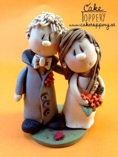 Polymer clay characters
