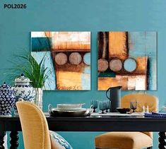 Find More Painting & Calligraphy Information about Light blue and yellowish brow Artist Canvas, Abstract Canvas, Canvas Wall Art, Abstract Paintings, Circle Art, China Art, Geometric Art, Painting Inspiration, Decoration