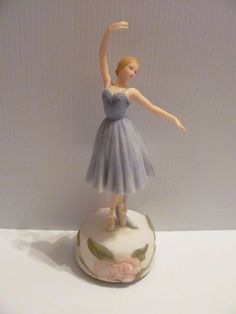 Ballerina Resin Music Box Figurine | Collectibles, Decorative Collectibles, Music Boxes | eBay!