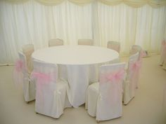 Pink & White theme - #marqueehireuk #marqueehire #Notts #Derby #Leicester #weddings #corporate #events