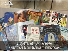Spark Student Motivation: 12 Gifts of Christmas-Easy Way to Get Excited About Books!