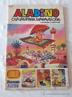 ALADINO O LA LAMPARA MARAVILLOSA Y OTROS CUENTOS - ED. BRUGUERA 1979 3ª EDICION - PORTADA JAN