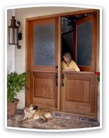 Double Dutch Doors for Exterior & Interior Applications - YesterYear's Vintage Doors