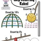 This is a great resource to help your students remember the patterns when skip counting by 2's, 5's, and 10's.  The patterns stand out in red font....