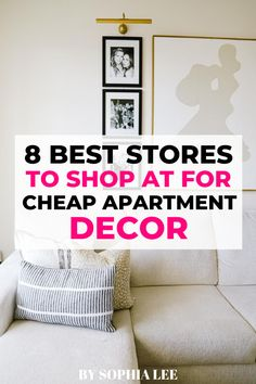 I'm about to move into my first apartment and really want to decorate it cute without spending a ton of money. These are definitely the best stores I've found for cheap apartment decor! College Apartment Bathroom, First Apartment Checklist, First Apartment Essentials, Cheap Apartment, Apartment Kitchen, Apartment Ideas, Ikea, Baby Changing Tables, Apartment Decorating On A Budget