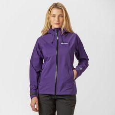 Dynamisch Womens Ladies Gelert Purple Full Zip Waterproof Adjustable Hood Jacket Coats, Jackets & Waistcoats