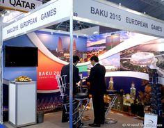 2015 Baku European Games Booth