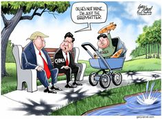 Conservative leaning political cartoons from Gary Varvel