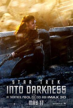 New STAR TREK INTO DARKNESS Posters: Zoe Saldana & Benedict Cumberbatch (Plus Motion Poster)