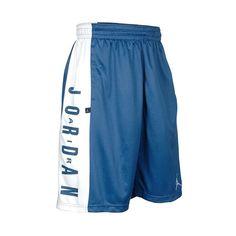 Men's Air Jordan Highlight Basketball Shorts ($28) ❤ liked on Polyvore featuring men's fashion, men's clothing, men's activewear, men's activewear shorts, mens activewear and mens activewear shorts