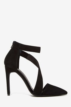 Jeffrey Campbell Septiva Suede Heel. These bb's mean biz.