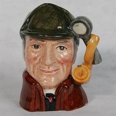 VINTAGE ROYAL DOULTON TOBY JUG - THE SLEUTH
