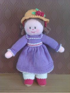"15"" knitted dolly"