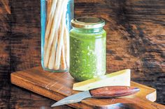 Walnut, caramelised onion and rocket pesto