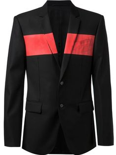 Shop Givenchy striped chest blazer in Hirshleifers from the world's best independent boutiques at farfetch.com. Over 1000 designers from 300 boutiques in one website.
