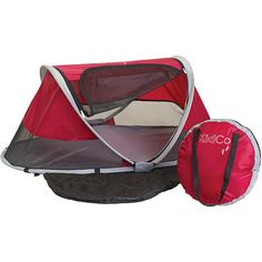 KidCo PeaPod Travel Bed, For When You Are Camping With A Toddler...It ONLY Unzips From The Outside So The Toddler Cannot Escape During The Night While You're Asleep Or When You're Not Looking...Perfect Size For 1-3 Year Olds & Fits Inside The Tent With You...Click On Picture For More Info, Specs, & Where To Purchase...NOTE: This Is Not The Recalled One W/Inflatable Matress...This Has The Pad...