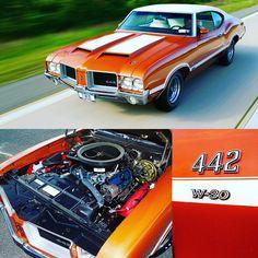 """308 Likes, 4 Comments - Muscle Cars Fan (@musclecars_fan) on Instagram: """"1971 Oldsmobile 4-4-2 W-30 -------------------------------- #oldsmobile #chevrolet #pontiac #mopar…"""""""