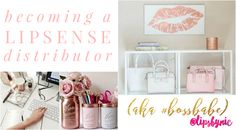Read my latest blog post to learn everything you need to know about becoming a LipSense Distributor #bossbabe.  From the awesome perks, to what being a distributor entails, to how I help you get your makeup business EASILY going - I've got you covered!