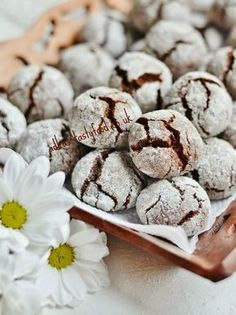 chute a vône mojej kuchyne. Low Carb Desserts, Low Carb Recipes, Cooking Recipes, Low Carb Casseroles, Chocolate Crinkles, Low Carb Bread, Christmas Cookies, Sweet Recipes, Biscuits