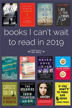 23 books I can't wait to read in 2019 – Modern Mrs. Darcy 23 books I can't wait to read in 2019 – Modern Mrs. Book Club Books, Book Lists, The Book, Book Club List, Elizabeth Gilbert, Book Suggestions, Book Recommendations, I Love Books, New Books