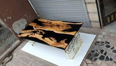 Epoxy Resin Table, Ocean Colors, Custom Furniture, Just For You, It Is Finished, Awesome, Etsy, Design, Bespoke Furniture