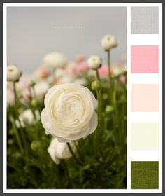 Lizzy B Loves visual + sparkle = color : early Spring or late Fall #color_palette #wedding_color_inspiration #wedding_colors