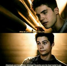 Always count on Stiles to have a witty comeback 5x16 #TeenWolf