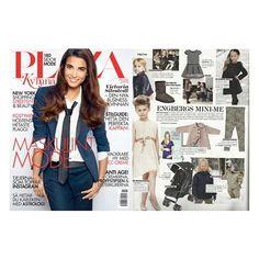 Leopold & Livia in Plaza Magazine