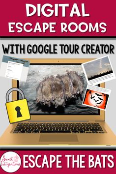 This Digital Escape Rooms: Escape the Bats With Google Tour Creator is perfect for 3rd, 4th grade Escape Room, Project Based Learning, Student Learning, 21st Century Skills, School Subjects, Book Study, Teacher Hacks, Fourth Grade, Critical Thinking