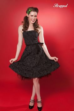That dress could be worked into Rockabilly wear