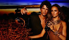 Nice Watch! African Safari with Michael Kors, Spring 2012 Ad Campaign