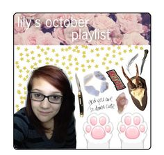 """""""lily's october playlist"""" by tips-tips-tipss ❤ liked on Polyvore featuring art"""
