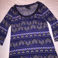 INC Colorful Tunic This tunic has beautiful detail at the neckline. The sleeves are 19 inches. The tunic is 30 inches long from the shoulder to the bottom. The size is XL. INC International Concepts Tops Tunics