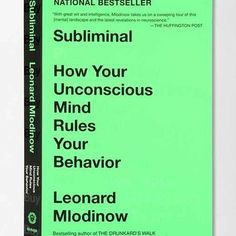 Subliminal By Leonard Mlodinow- Assorted One