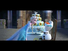 "A New Trailer For ""Frozen Fever"" Features A New Song, Snowbabies, And Lots Of Cake"