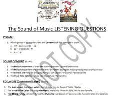 Listening Activity: Musical Theater: The Music Man   Listening ...
