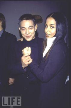 Aaliyah & Jet Li had amazing chemistry