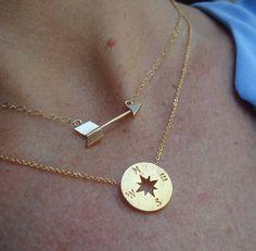 gold pendants #lovebiarritz