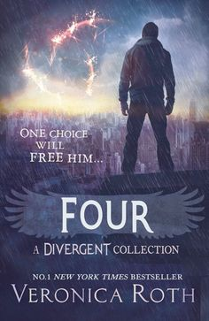 Four novel by Veronica Roth with English version language
