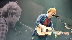Ed Sheeran - Singing at Glastonbury 2014 concert on BBC youtube.com  http://youtu.be/XMy0x7nlxl0