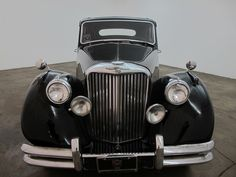 1949 Jaguar MK V Saloon, sunroof, black with red interior, excellent original West Coast car that just came out of an estate. For only $15,750  If you have any additional questions Please call 310-975-0272