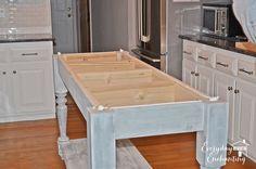 DIY Furniture Style Kitchen Island